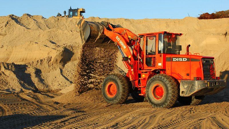 Песок для строительства и ремонта
